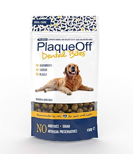 Proden PlaqueOff Dental Bites Hund - 150 g