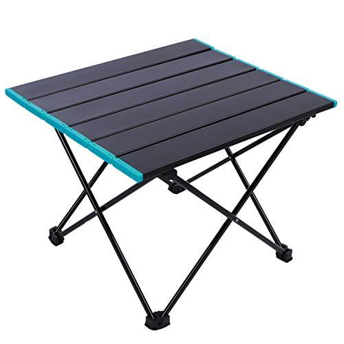 Mesa de Camping Plegable portátil al Aire Libre Mesa de Comedor de Picnic para Acampar Escritorio Ligero de aleación de Aluminio