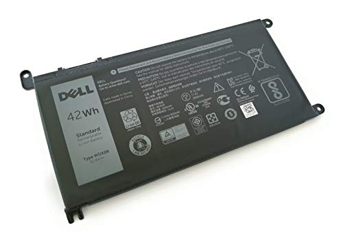 Genuine Dell Battery WDX0R 42Whr 4-cell 11.4V for Dell Inspiron 13 5368 5378 7368 7378, Inspiron 15 5565 5567 5568 5578 7560 7570 7579 7569 P58F and Inspiron 17 5765 5767 (Type WDX0R)