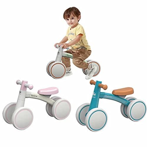 三輪車 ミニ 軽量 パダルなし自転車 4輪 子供 1歳から ベビーバイク 持ち運び便利 誕生日プレゼント キックバイク ベビーカー 乗り物 組み立てかんたん 男の子 女の子 トレーニングバイク 出産祝い お祝い クリスマスプレゼント