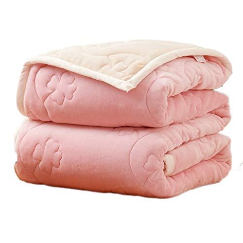 Comfortabel fluffy deken double/veel sizee - super zachte fleece beddensprei deken flanel microvezel slaapbank deken goed tintje
