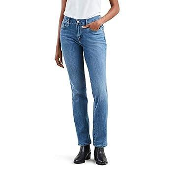 Levi s Women s Straight 505 Jeans Sparkly Night Sky 30  US 10  M