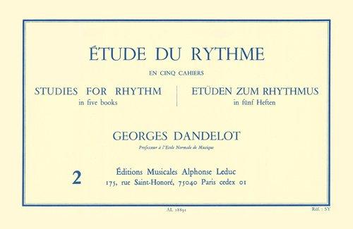 ETUDE DU RYTHME VOLUME 2