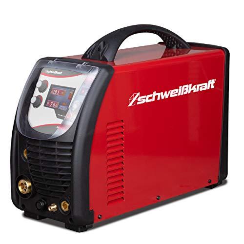 Schweißkraft Easy 181 Multi-Soldador multifunción (MIG/mag, Wig y Soldadura de electrodos, 230 V, Dispositivo móvil, Incluye Accesorios) 1071181