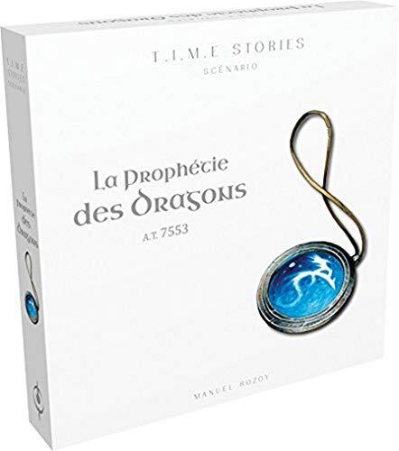 Time Stories - Extension : La Prophétie des Dragons - Asmodee - Jeu de société - Jeu de stratégie - Jeu coopératif