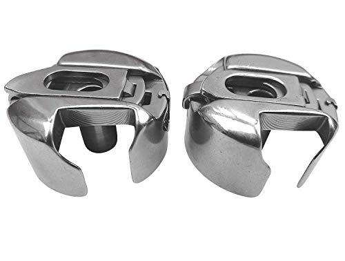 2 Stück Spulenkapsel für Pfaff 260, 262, 360, 362, Pfaff 1222, Pfaff 294 u.v.m. Nähmaschine