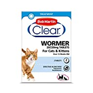 Bob Martin Clear | Cat Wormer Tablets, Suitable for Kittens | Clinically Proven Effective Treatment ...