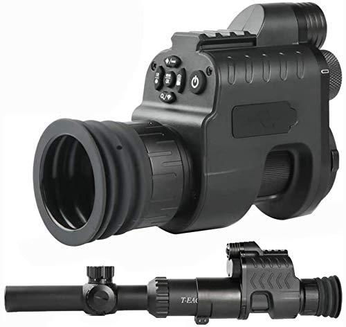 Grabación de vídeo digital de caza de visión nocturna monocular del alcance del rifle de la cámara de infrarrojos de 850 nm VCR con la linterna IR para al aire libre táctico del rifle de caza de Super