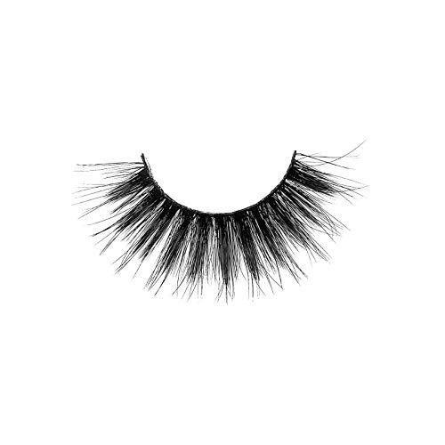 HUBA 3D Falsche Wimpern 20 paare natural fake lashes Wiederverwendbare handgefertigte stiel künstliche Wimpern für das tägliche Make-up (20 paare, G)
