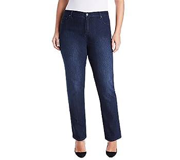 GLORIA VANDERBILT Women s Size Amanda Classic High Rise Tapered Jean Portland Wash 18 Plus Short