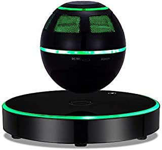 Levitating Speaker,ESOTICA Floating Speaker with Bluetooth 4.1,360 Degree Rotation,Touch Control Button and Colorful Led F...