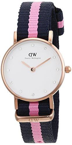 Daniel Wellington 0906DW - Reloj con correa de cuero para mujer, color...