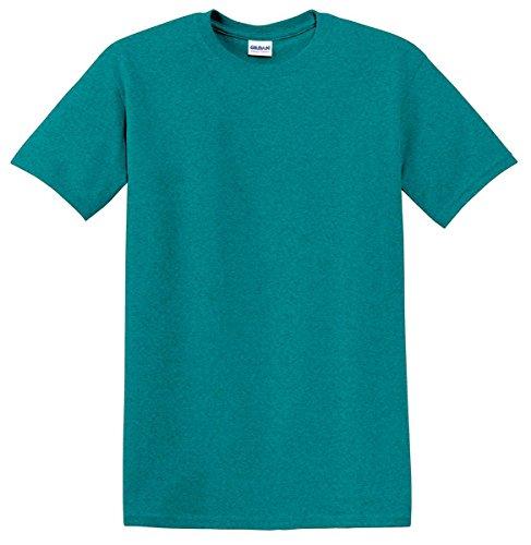 Gildan Heavy Cotton 5.3 Oz. T-Shirt (G500)- Antique Jade Dome,XXX-Large