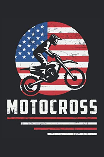 MOTOCROSS: Address Book and Password Keeper Address Book Alphabetical Tabs (6x9 inches) with 120 pages in Dirt Bike Motocross Racing Design