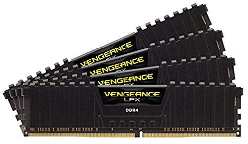 Corsair Vengeance LPX 64GB (4x16GB) DDR4 3000MHz C16 XMP 2.0 High Performance Desktop Arbeitsspeicher Kit, Schwarz