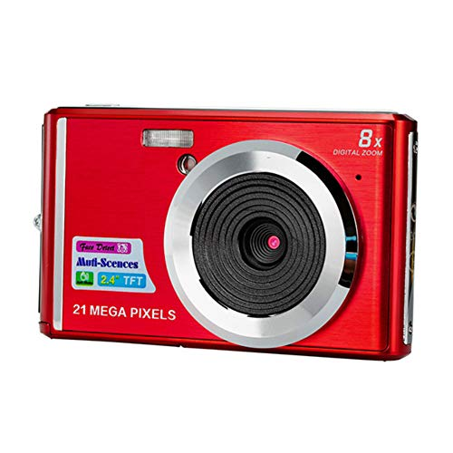 コンパクトデジタルカメラ、家族、友人、学校、学生、休日用C4超薄型アンチシェイク顔検出ポータブルズームLCDディスプレイデジタルカメラ
