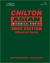 Chilton 2005 Asian Mechanical Service Manual, Mitsubishi-Toyota: (2001-2005) (Chilton Mechanical Manuals)