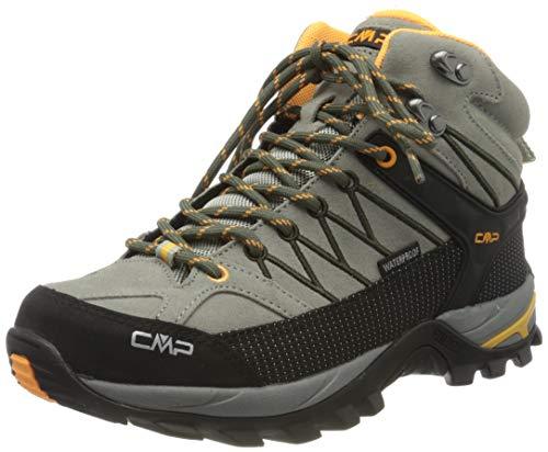CMP – F.lli Campagnolo Damen Rigel Mid Wmn Shoe Wp Trekking- & Wanderstiefel, Grün (SAGE-Solarium 06FE), 38 EU