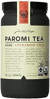 PAROMI TEA Cinnamon Chai Tea, Full-Leaf, 15-Count Tea Sachets, 1.6 oz Bottle by Paromi Tea
