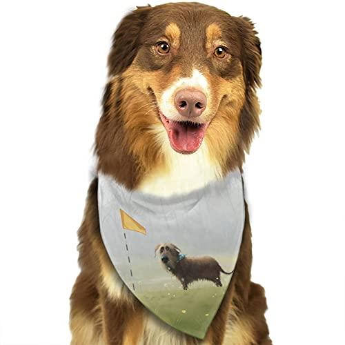 Cute Dog Dog Bandana Triangle Dog Scarf Pet Bib Accessories Small Large Dogs Adjustable
