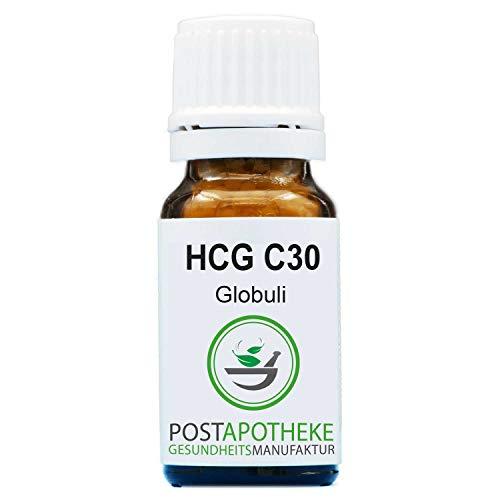 HCG C30 Globuli 10g | ORIGINAL homöopathisch nach Hahnemann| Handgefertigt | Deutsche Apotheke