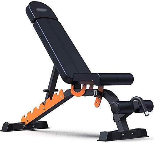 Byakns Zuhause oder kommerzielle Fitnessgeräte Hantel-Tischgymnastik Professionelle Training Gewichtheben-Ausrüstung, kann 200kg (Farbe: Schwarz, Größe: 15550121cm), Größe: 155 * 50 * 121cm, Farbe: sc