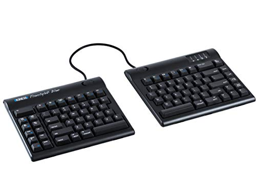 "Kinesis Freestyle2 Blue Wireless Ergonomic Keyboard for Mac (9"" Standard Separation)"