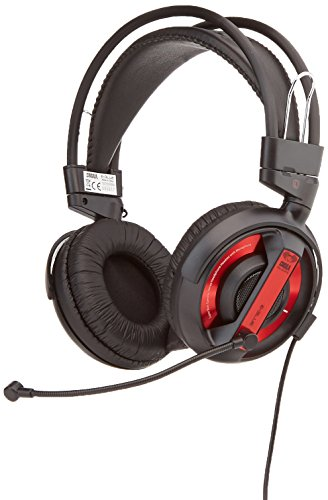 Gaming Headset, E-3LUE Headphone Cobra Series EHS956REAA-NY 3.5mm Stereo Over-Ear Professional with Microphone