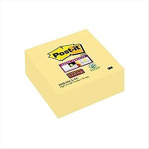 Post-It 2028-SSCY-EU – Notas adhesivas en cubo, 76 x76 mm, Color Amarillo