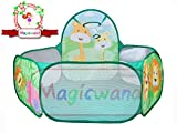 Magicwand® Large Size Multi-Colored Deep-Sea Theme Pop-up Activity Ball-Pool Without Balls