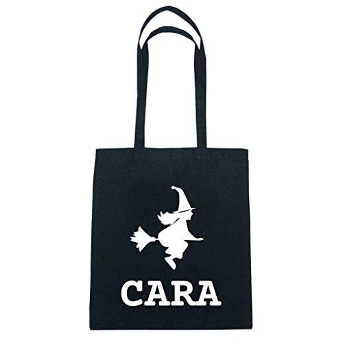 JOllify Baumwolltasche Halloween für CARA - Hexe