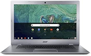 Acer 15.6in FHD(1920x1080) IPS Touchscreen Business Chromebook- Aluminum Metal Body, Intel Celeron N3350 Processor, 4GB LPDDR4 RAM, 32GB SSD, WiFi, Bluetooth, Chrome OS-(Renewed) (32GB)
