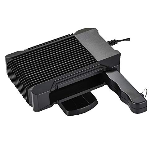 WANYIG Calefacción para Coche Portátil 12V, Calefactor con Ventilador 150W Calentador con Ventilador de Frío/Calo 30s Calentamiento Rápido con Mango y Cable 1.5M