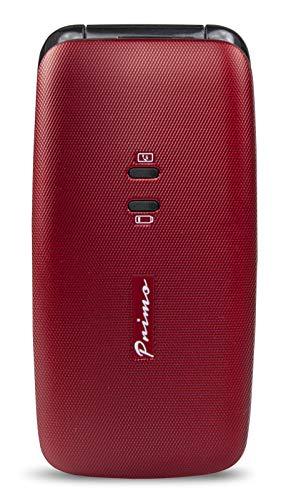 Primo 401 by Doro - GSM Mobiltelefon mit großem beleuchtetem Farbdisplay - rot