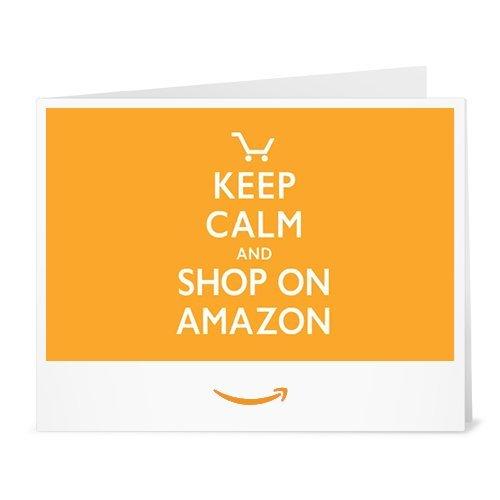 Buono Regalo Amazon.it - Stampa - Keep Calm and Shop On Amazon