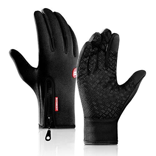 FENRIR Fahrradhandschuhe Winterwarme Handschuhe für Männer und Frauen, Touchscreen-Handschuhe Winddichte rutschfeste Sporthandschuhe zum Laufen Radfahren Wandern Klettern Fahren