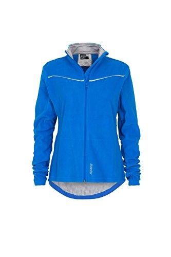 Gregster Damen Fleecejacke Sport-Jacke warm Polarfleece, blau, L