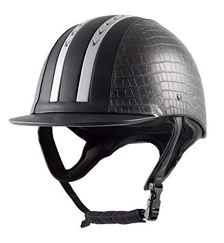 PFIFF Casco de equitación ïe01ï Negro 56cm