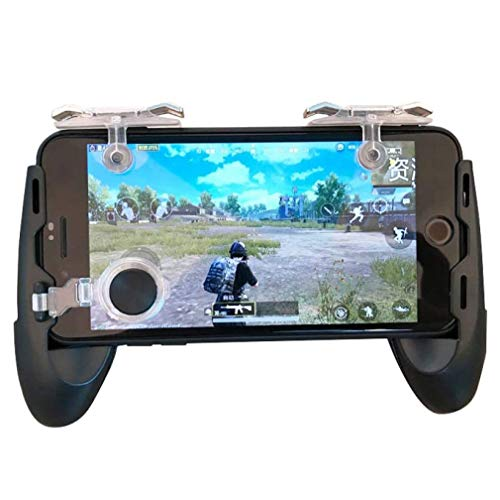 XFF Gamepad Standard-Controller Mobile Controller Free Shooting L1 R1 Trigger Game Pad 5 In 1 Pubg Mobile Game Pad, EIN Geschenk, Das Jungs Mögen