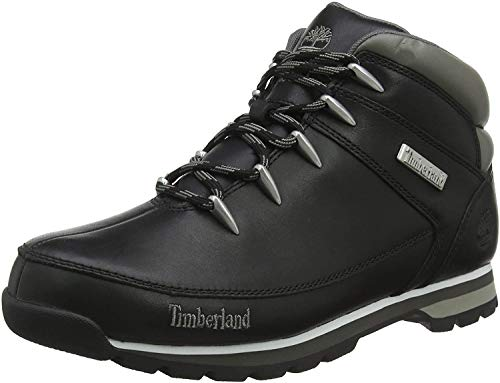 Timberland Euro Sprint, chaussures montantes homme, Noir (Black Smooth), 50