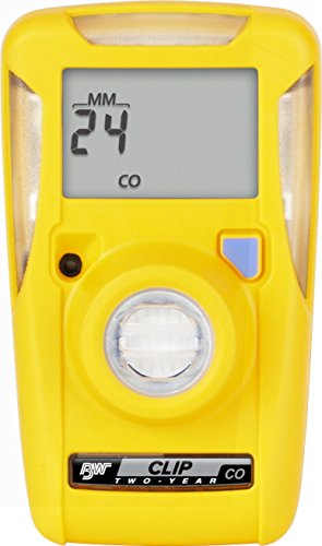 """BW Technologies BWC2-H-B50 BW Clip Single Gas H2S Monitor, 10""""/15"""" (Pack of 50)"""