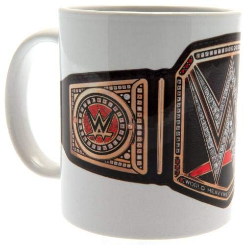 Pyramid International WWE Mug Title Belt Taza de 325 ml, Unisex, Multicolor, 0,3 l