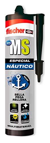 fischer - Ms Especial Nautico Negro/ (Cartucho de 290 ml), 552846