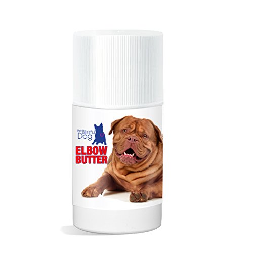 The Blissful Dog Elbow Butter Moisturizes Your Dog's Elbow Calluses - Dog Balm, 3-Ounce
