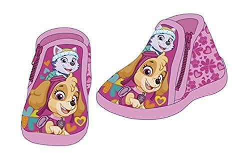 Nickelodeon Paw Patrol - Kinder Hausschuhe Laufschuhe Schuhe Schlappen tolles Geschenk Mädchen (27 EU, Paw Patrol)