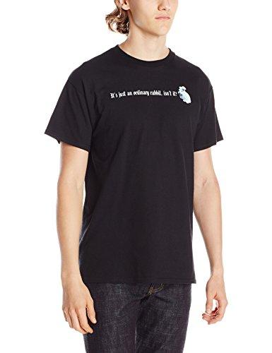 Liquid Blue Men's Monty Python-Killer Rabbit T-Shirt, Black, Small