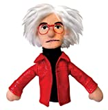 Unemployed Philosophers Guild Andy Warhol Finger Puppet and Refrigerator Magnet - for Kids and Adults