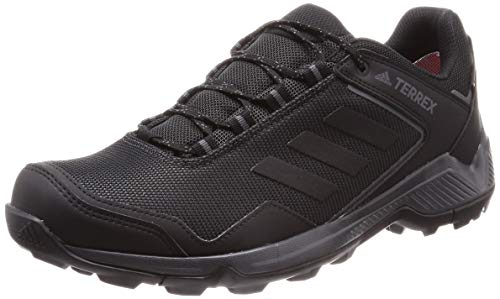 adidas Terrex Eastrail GTX, Track and Field Shoe Mens, Carbon/Core Black/Grey, 43 1/3 EU