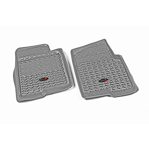 Rugged Ridge 84902.03, All Terrain Floor Liner, Front, Gray, 2009-2010 Ford F-150 / Raptor / Regular / Extended / Super Crew Cab