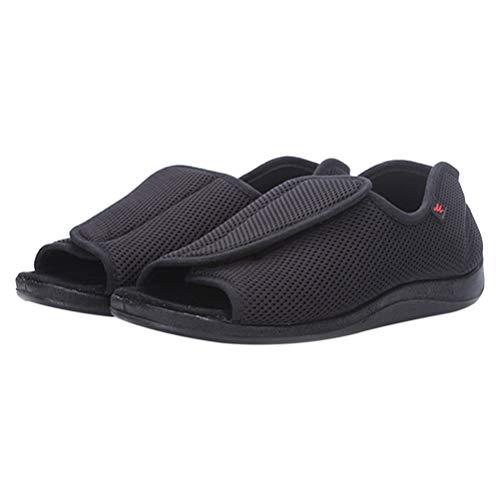 EXCEART 1 par de Zapatos Postoperatorios Médicos Zapatos Quirúrgicos para Caminar Botas de Fundición Estrés Fractura Abrazadera Sandalia Ortopédica Tamaño 43